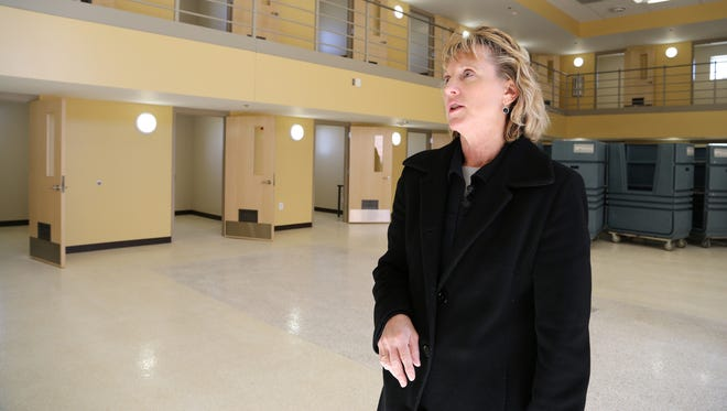 Patti Wachtendorf, warden of the Iowa Correctional Institution for Women, says the new facilities will offer more space for treatment and education.