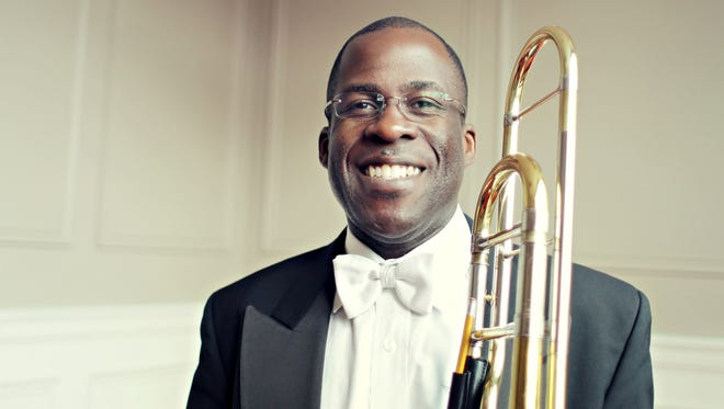 Detroit Symphony Orchestra trombonist Ken Thompkins.