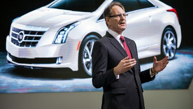 Cadillac President Johan de Nysschen soothed anxiety among the brand's more than 900 dealers who were concerned he might reduce their ranks during a meeting at the National Automobile Dealers Asssociation Convention.