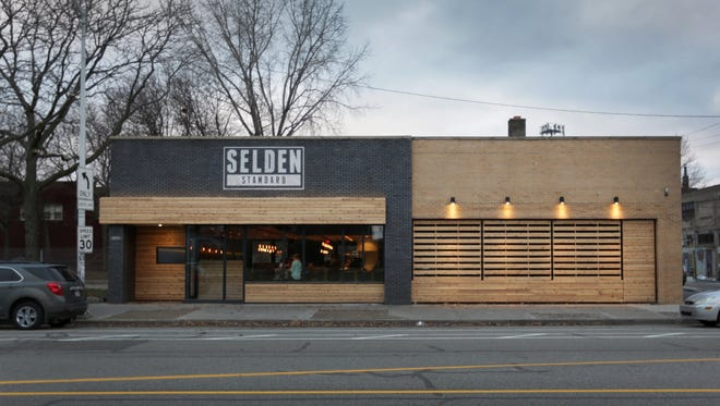 Royal Oak resident Bradley Gray was randomly selected from 16,000 entries in the Free Press' contest to win Valentine's Day dinner for two at the 2015 Restaurant of the Year — Selden Standard in Detroit.