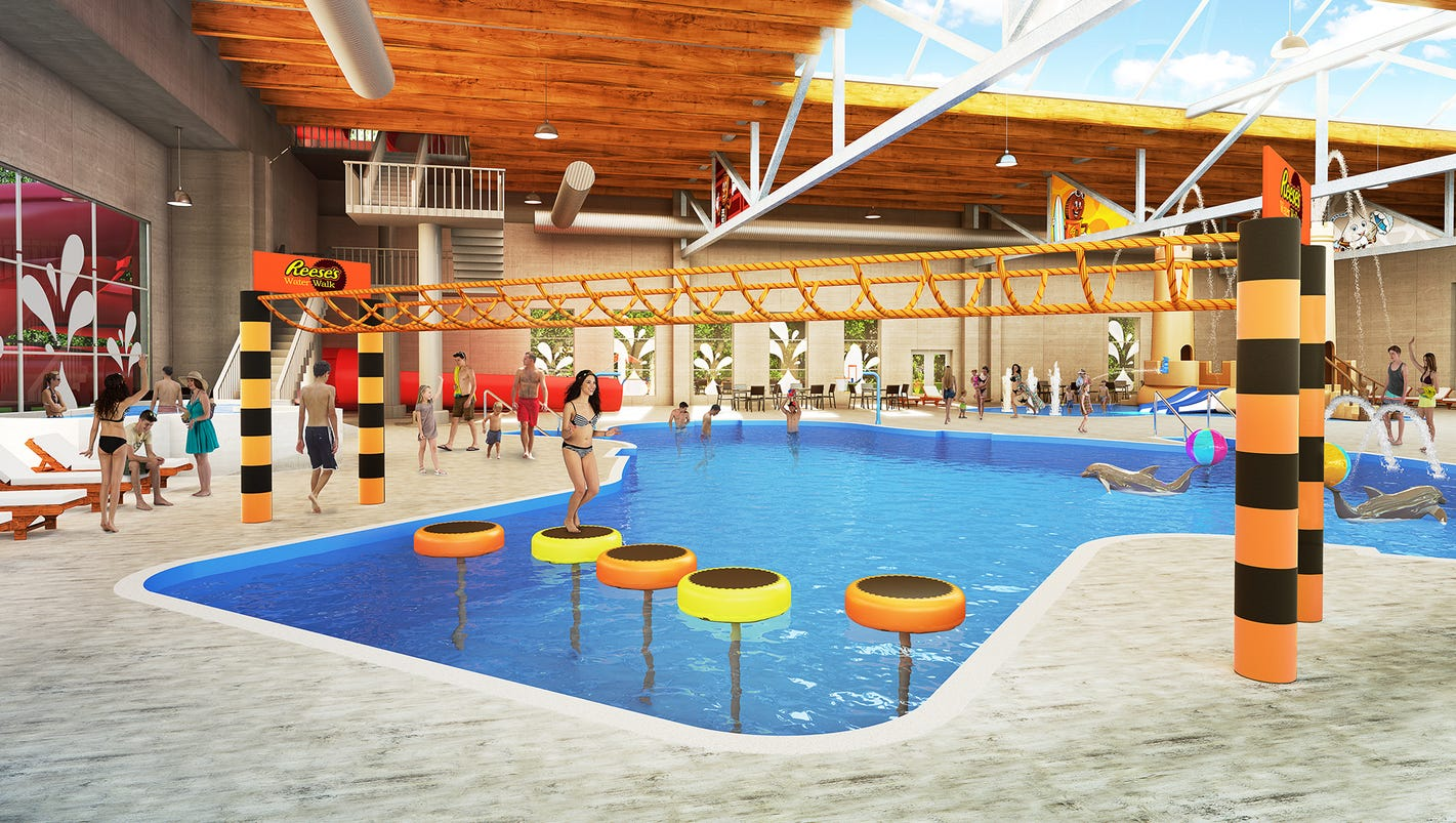 New indoor pool complex at hershey lodge for Indoor swimming pool in lebanon
