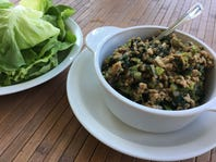 Butter Lettuce Wraps: Superbowl Recipe