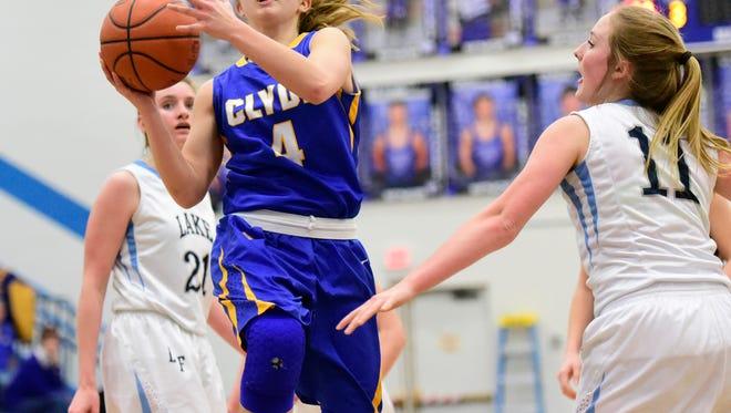 Clyde senior Heidi Marshall was Sandusky Bay Conference player of the year last season.