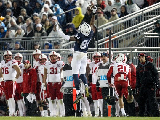 Penn State Nittany Lions wide receiver Juwan Johnson