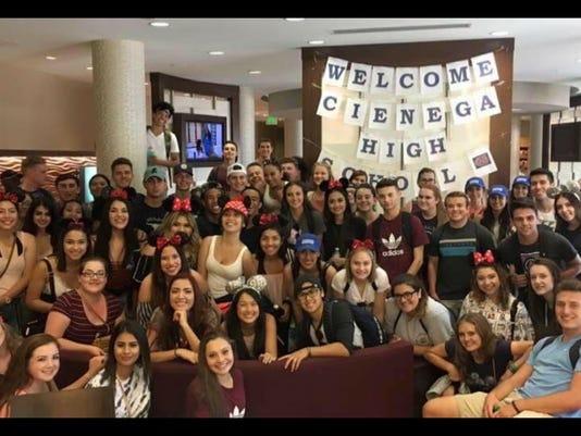 Cienega high school senior trip