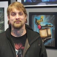 The Artist Next Door: Tattoo studio joins art walk, to feature a variety in February