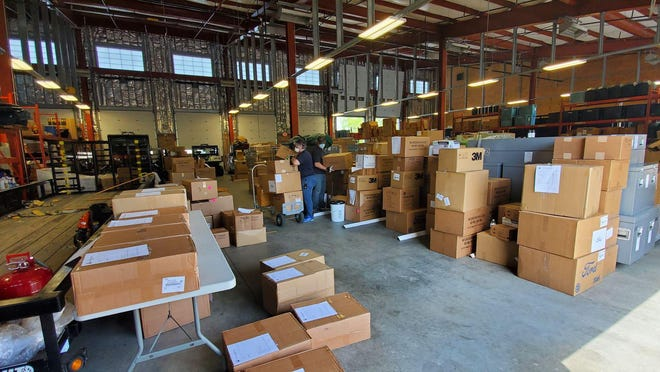 Burlington County has distributed more than 1.8 million PPE items.
