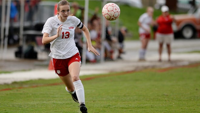 Breanna Kirk and Hendersonville made it farther in the NCHSAA 2-A soccer playoffs than any team in school history.