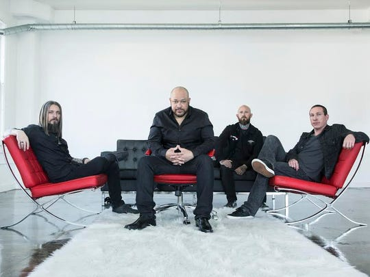 Metal band Devil You Know, featuring ex-Killswitch Engage frontman Howard Jones, center, is set to perform on March 18 at Tricky Falls.
