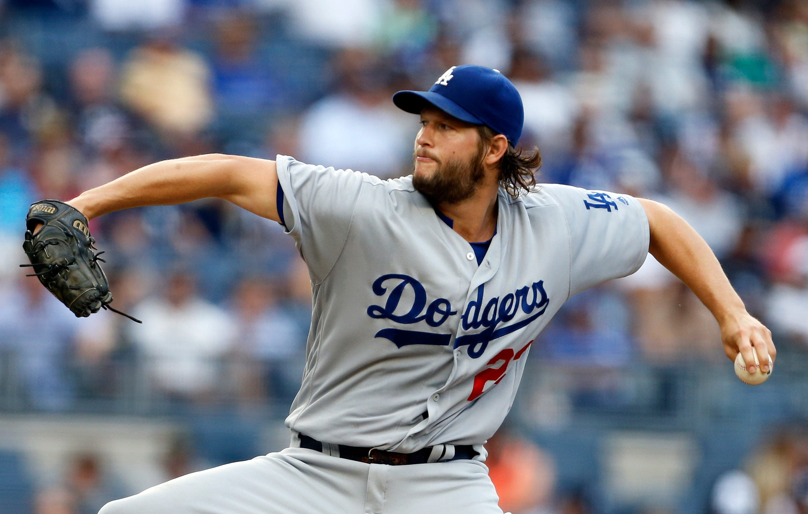 & Clayton Kershaw paces Dodgers\u0027 shutout of Yankees