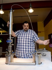 Brian Hamilton, co-owner of Lansing's newest dispensary,