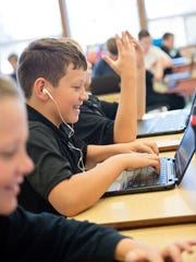 St. Mary Catholic School is a 1-to-1 school: one laptop