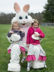 The Easter Bunny will take pictures with kids and pets at many hunts in Sumner County.