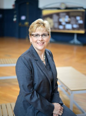 Roberta Cordano becomes the first deaf female president of Gallaudet University, the only liberal arts university in the world for deaf and hard of hearing students, on Sept. 30, 2016.