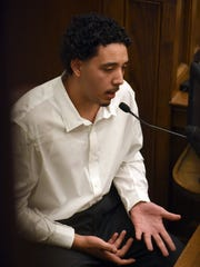 Daylon Waldrop testifies in his own trial on being