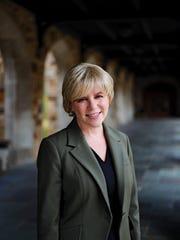 Rhodes President Marjorie Hass