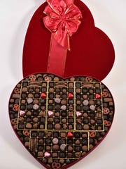 Big enough? Conrad's giant chocolate box packs 198
