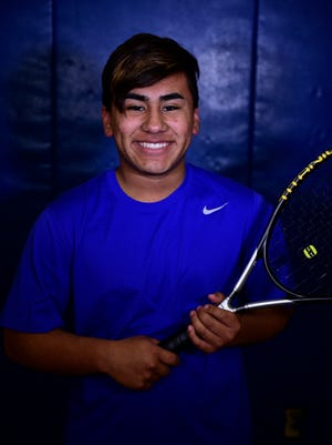 Daniel Stevens didn't drop a game at No. 2 singles Tuesday as Clyde topped Tiffin Columbian.