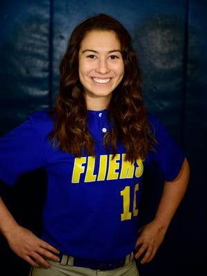 Left fielder Delaney Gill is among Clyde's returning players.