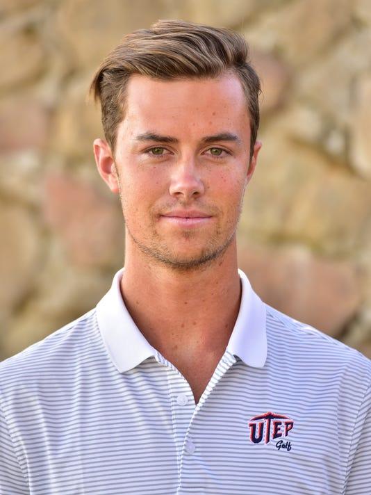 UTEP golfer Charles Corner