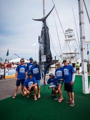 Pensacola's Reel Addiction fishing team members pose
