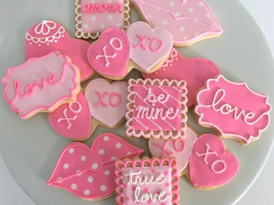 Assorted sugar cookies, $3.25/each