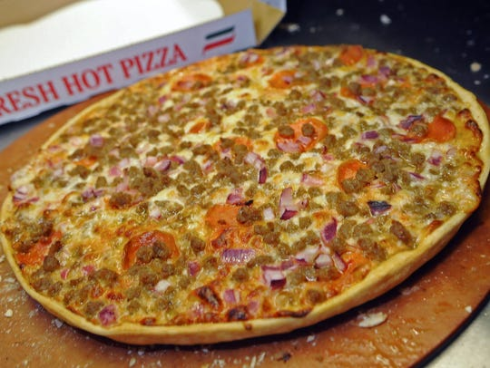 Smitty's Pizza on Mansfield Road made the cut as one