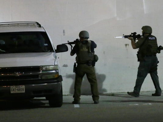 Dallas Shooting Prote_Van