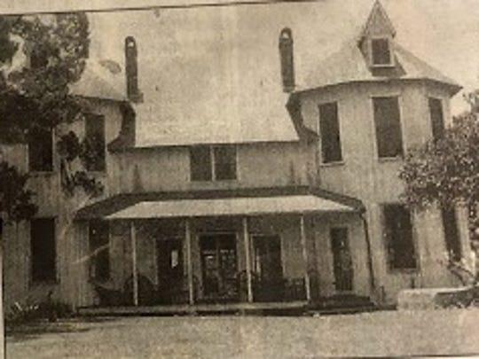 Dummitt Castle was burned down in 1967.