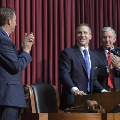Gov. Eric Greitens gave his State of the State address