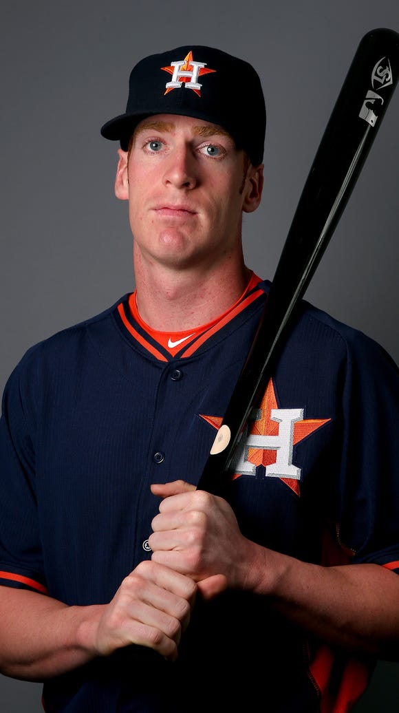 Colin Moran of the Houston Astros poses for a portrait