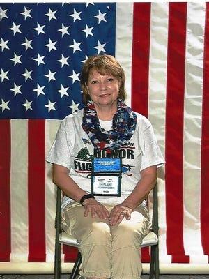 Veteran Darlene Hemmingsen, of Pataskala, participated in the first all-women Honor Flight out of Columbus.