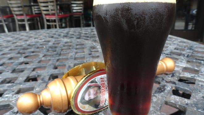 Pensacola Bay Brewery's Conquistador Dopplebock.