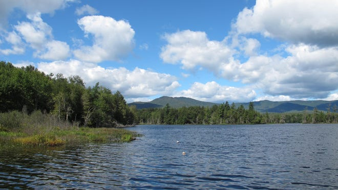 A scene in the Adirondack Mountains.