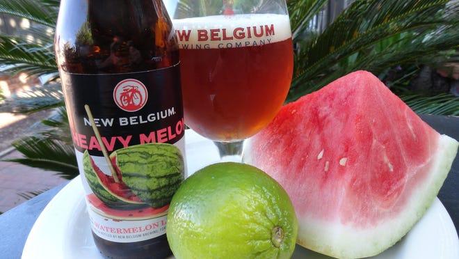 New Belgium Heavy Melon.