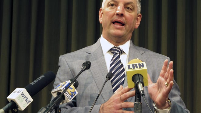 Gov. John Bel Edwards and Attorney General Jeff Landry have repeatedly locked horns over issues since taking office earlier this year.