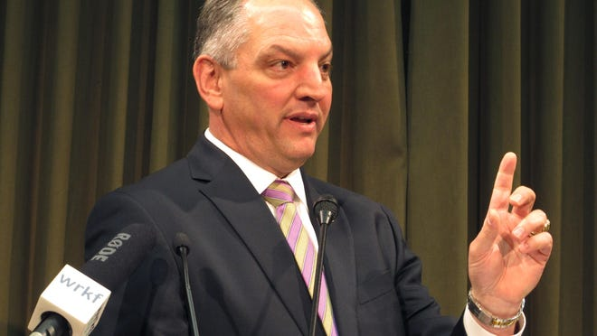 Gov. John Bel Edwards has opposed the front-loading of TOPS payments, and could veto the measure.