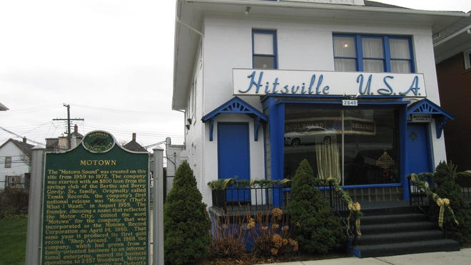 The Motown Museum on West Grand Boulevard in Detroit.