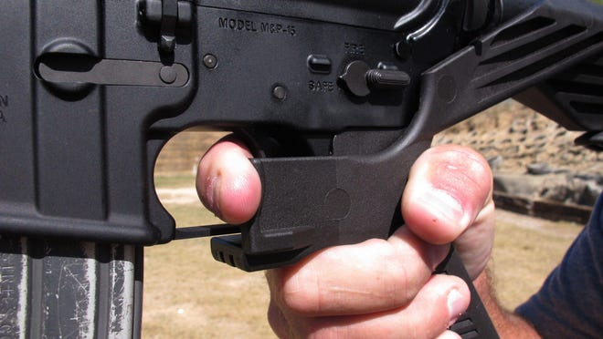 """Bump stocks"" are a device that allows semi-automatic weapons to fire at a faster rate."