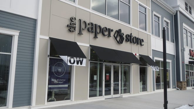 The Paper Store, which has several locations on the South Shore, filed for Chapter 11 bankruptcy protection Tuesday in U.S. District Court in Worcester.