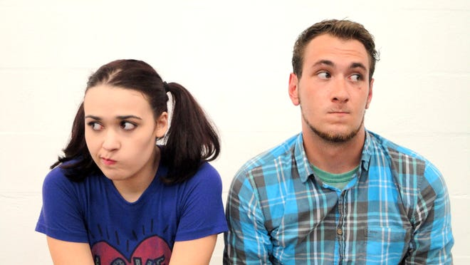 """Stella Ruiz and Connor Zerilla play a pair of twisted toddlers in """"Mr. Marmalade."""""""