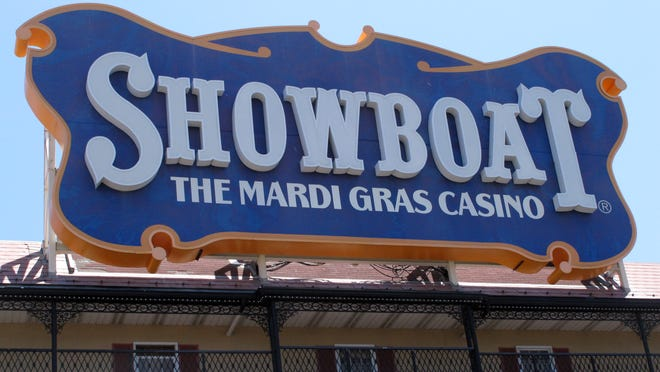 Churchill Downs' Internet gambling operation in Louisville came to light in a lawsuit against a partner who had sought to buy the Showboat Casino Hotel in Atlantic City N.J. and make the gambling license available for Churchill to offer Internet gambling in New Jersey. (AP Photo/Wayne Parry)