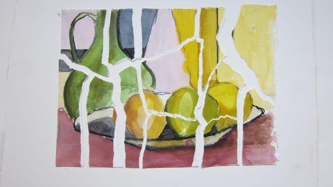 """Cracked Ice"" by Sandra Constantine."