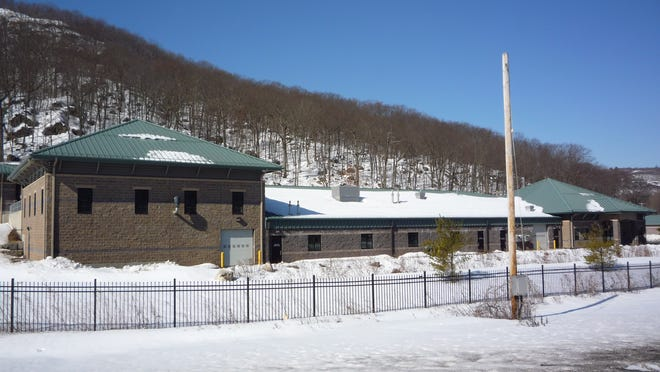 Rockland County Sewer District 1's wastewater treatment plant in Hillburn.