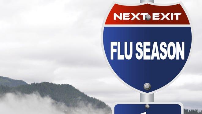 We're now in the midst of flu season.