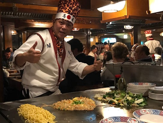 Chef at Mt. Fuji in Hillburn
