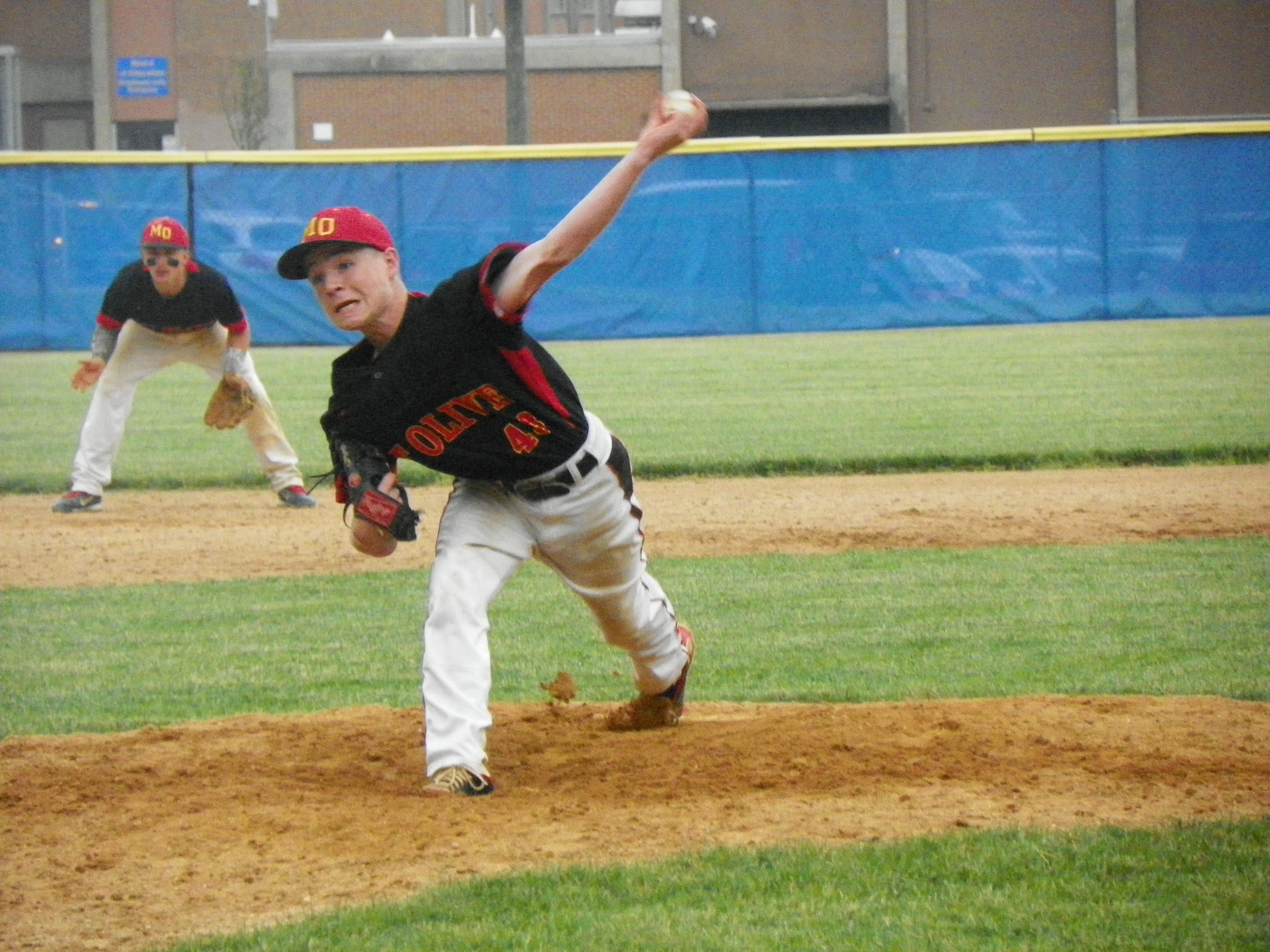 Mount Olive junior Connor Henry, the team's closer in 2014, is one of the main starters this season as the No. 14 seed Marauders have reached the Morris County Tournament semifinals.