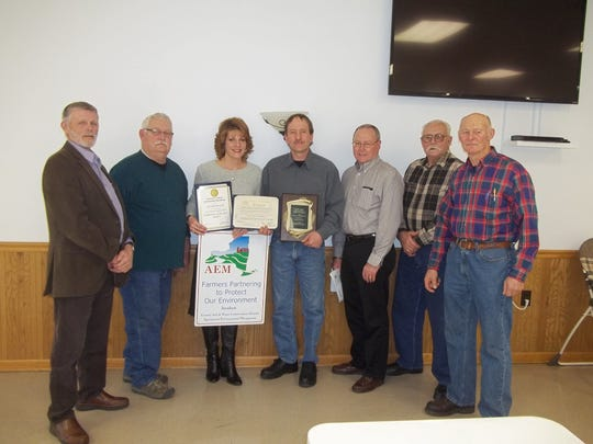 Gerald Percival was named the 2014 Cooperator of the