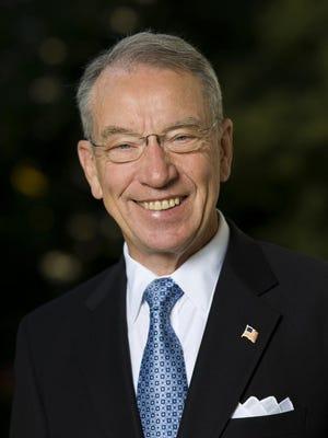 Sen. Chuck Grassley, R-New Hartford