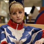 "Melissa Rauch stars as a former Olympic gymnast in ""The Bronze,"" which she co-wrote with her husband Winston."